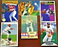 OZZIE SMITH Baseball Card Lot of 6 HOF