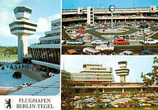 Flughafen,Berlin-Tegel,Germany,3 Views,Airport,Souvenir Cancellations,LUPOSTA-77