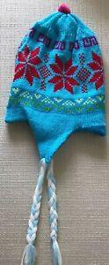 Peruvian Original Multicolor Alpaca Reversible chullo Hat NEW!!!