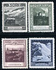 Liechtenstein 1930 102b,103 - 104a, 106a * 510 € (s1028