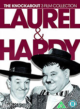 LAUREL AND HARDY KNOCKABOUT COLLECTION - DVD - REGION 2 UK