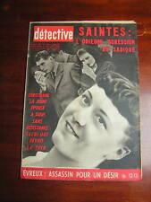 Détective 1961 SAINTES ALLAINES SAINT ANDRé DE L'EURE