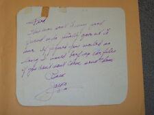 Jock Mahoney-signed letter-18 - JSA COA