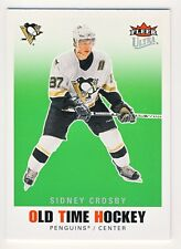 Sidney Crosby 2007-08 Fleer Ultra Hockey Old Time Hockey RARE Insert Card #OT7