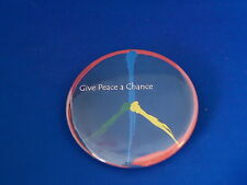 """""""Give Peace A Chance"""" Lot of 12 Buttons pin Sign pinback 2 1/4"""" 1960'S Hippies"""