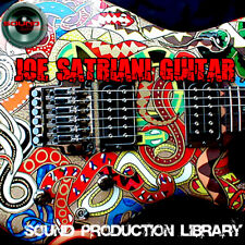 Joe Satriani GUITAR - HUGE Perfect 24bit WAVE Multi-Layer Samples Library on DVD