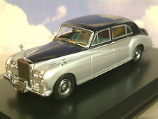 OXFORD 1/43 ROLLS ROYCE PHANTOM V 5 JAMES YOUNG NAVY BLUE OVER SILVER 43RRP5001