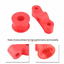 Polyurethane Shifter Bushing Kits Red For Acura Honda Civic Manual Transmission