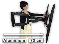 LED LCD Fernseher Wandhalterung 32-50 Zoll 3D Full-HD Halter 70 cm ausziehbar