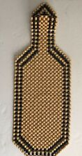 Universal Premium Wooden Beaded Seat Cushion Cover Massage Cool Car