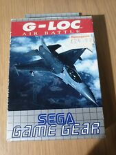 G-LOC AIR BATTLE SEGA GAME GEAR GAME - REPLACEMENT BOX ONLY. NO GAME!!!