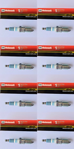 New SET OF 8 Motorcraft Platinum - Copper Core Spark Plugs