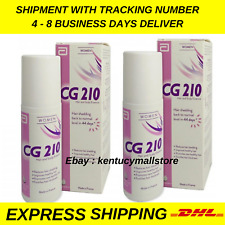 Cg 210 Anti-Hair Loss and Scalp Essence Woman Made In France 80 ml x 2 bottles