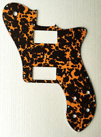 Fits 72 Tele Deluxe Reissue Guitar Pickguard PAF Humbucker, 4Ply leopard print
