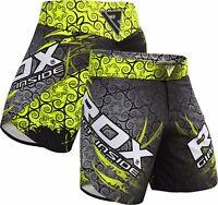 RDX MMA Short Entrainement Kick Boxe Free Fight Combat Martiaux Cage FR