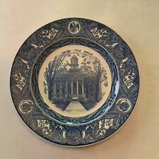 Vintage Wedgwood Of Etruria University Of Iowa Old Capitol Plate 2nd Edition