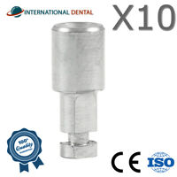 10 Implant Analog for Wide Platform, Hex Abutment Dental Implant Dentist