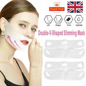 4D Face-lift V Shape Mask Neck Face Slim Double Chin Anti-Wrinkle Remove Tool UK