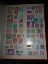 Album - Seite mit alten Briefmarken Südamerika Mittelamerika