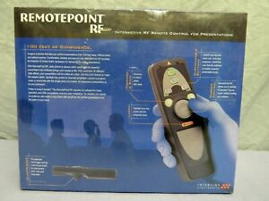 New - Interactive RF Remote Control for Presentations VP4810 - remotepoint