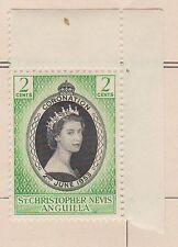 (Q15-91) 1953 St Christopher Nevis Anguilla 2c QEII Coronation MH