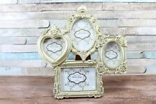 Champagne Gold Antique Ornate Collage Resin Photo Frame Freestanding
