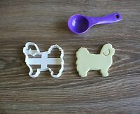 Maltese Cookie Cutter Dog Pup Pet Treat puppy Pupcake topper cake