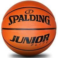Junior Flight Rubber Basketball Size 4 In Orange Outdoor Ball From Spalding
