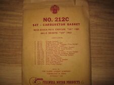N.O.S 1951 Chrysler & Desoto Carburetor Gasket Kit