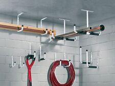 12 tlg. Haken Set Wandhaken Treppenhaken Montagehaken Leiterhaken Garage Keller