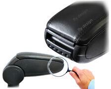 Mittelarmlehne für Fiesta MK6 MK7 VI Schwarz Leder Mittelarm brazo