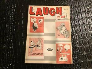 SEPT 1961 LAUGH IT OFF digest pinup humor cartoon magazine (MISC5021)