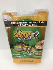 Jr. Scene It? To Go! The DVD Game Perfect for Travel Airplane Car Mattel Games