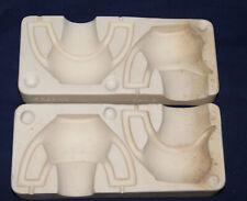Vtg Ceramic Pottery Slip Casting Mold - 1962 Duncan - Creamer & Sugar Bowl #992