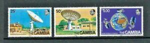 Gambia 1979, Abuko Satellite Earth Station sg421/3 MNH