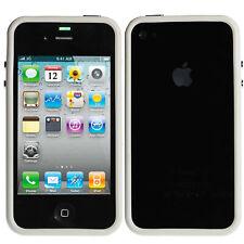 Bumper Apple iPhone 4 / iPhone 4S TPU Silikon Weiß Case Schutzhülle Cover