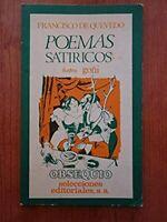 Libro Poemas satíricos Francisco de Quevedo literatura española poesía