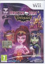 Nintendo Wii «MONSTER HIGH ~ 13 DESIDERI» nuovo sigillato italiano pal