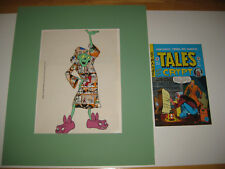 E.C. Comic-Tales From The Crypt-T.V.Series-Orig.Han d Painted Animation Cel-Rare!