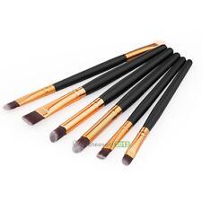 6pcs Makeup Cosmetic Brushes Set Powder Foundation Eyeshadow Lip Brush Tool Kit