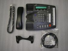 Two (2) 3Com HP NBX VoIP 2102B Black/Grey Business Phone