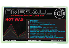 750g One Ball Jay X-Wax Warm Snowboard Wax | Bulk Flouro