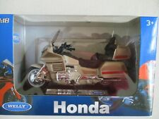 Moto Miniature Honda Goldwing WELLY 1/18