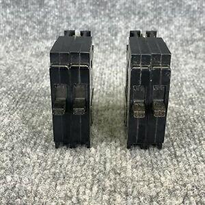 Pack of 2 ITE EQT-2020 20 Amp 120/240V TANDEM Circuit Breaker
