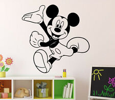 Mickey Mouse Wall Decal Walt Disney Vinyl Sticker Home Kids Art Decor 11(nse)