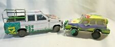 African Safari Recycled Tin Toy Bush Safari Truck & Jeep