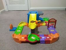VTech Go! Go! Smart Wheels Construction Toot Toot Drivers Playset Incomplete Set