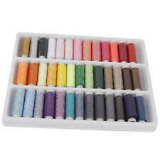 Boxed 39 Spools of Mixed Color 100% Polyester Sewing Thread Multi-Purpose