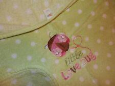 30x40 Circo Little Love Bug Ladybug Green Fluffy Plush Fleece Crib Baby Blanket