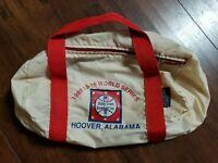 1989 Dizzy Dean Old World Series Duffle Bag Hoover AL Rare Little League